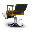 """Barber Chair - borbélyszék """"The King's Chair"""" Brown"""