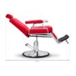 "Barber Chair - borbélyszék ""Downtown"" Red"