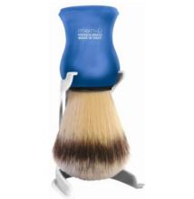 men-ü Premium Synthetic Shaving Brush - blue