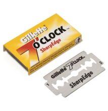 Gillette 7 O'Clock DE blades borotvapenge (5db/csom.)