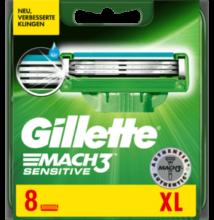 Gillette Mach3 Sensitive borotvabetétek XL (8db)