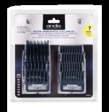 Andis Master® Premium Metal Clip 7db-os toldófésű szett