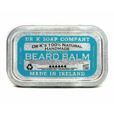 Dr K Beard Balm Fresh Lime szakáll kondicionáló 50g