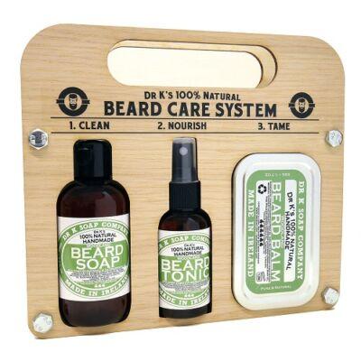 Dr K Beard Care System (Woodland) szakállápoló szett