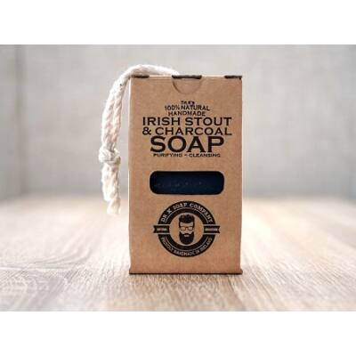 Dr K Soap Company Irish Stout & Charcoal Body Soap 110g