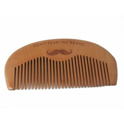 """Kent Beard Comb (Wooden) """"Don't Fear The Beard"""" szakállfésű"""