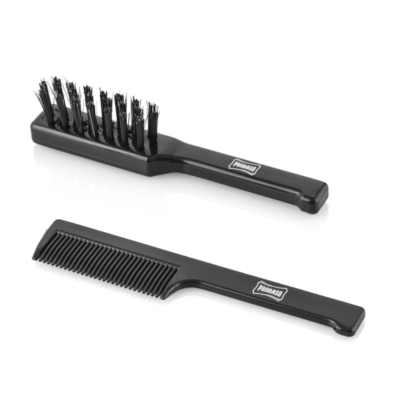 Proraso Moustache & Beard Brush and Comb Set