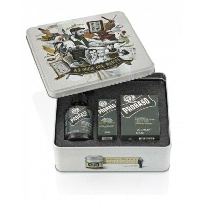 Proraso Vintage Beard Gift Tin (Cypress & Vetyver) ajándékszett