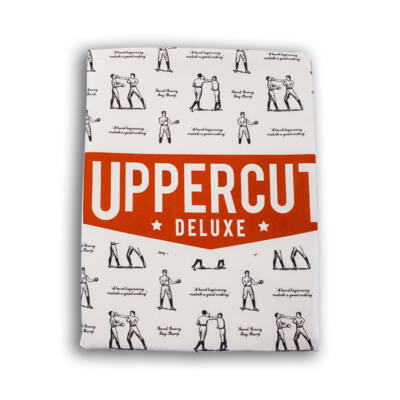 Uppercut Deluxe White Cape with print