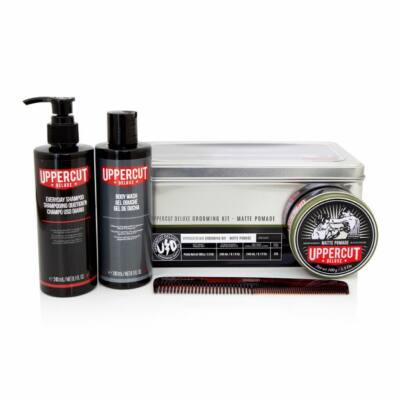 Uppercut Deluxe Grooming Kit (Matt Pomade) ajándékszett (ÚJ)