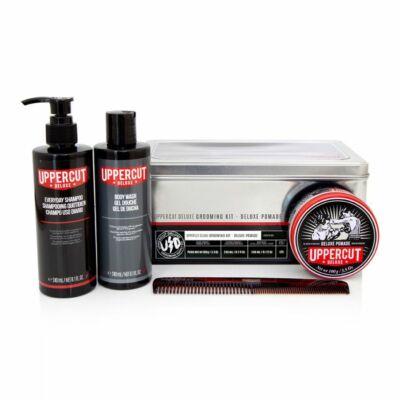 Uppercut Deluxe Grooming Kit (Deluxe Pomade) ajándékszett (ÚJ)