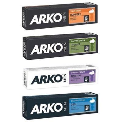 Arko Men Shaving Cream Sortiment borotvakrém 100g (15db/csom - 3db/5 típus)