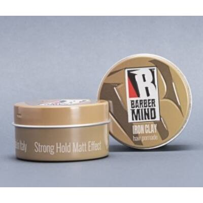 Barber Mind Iron Clay 100ml (ÚJ)