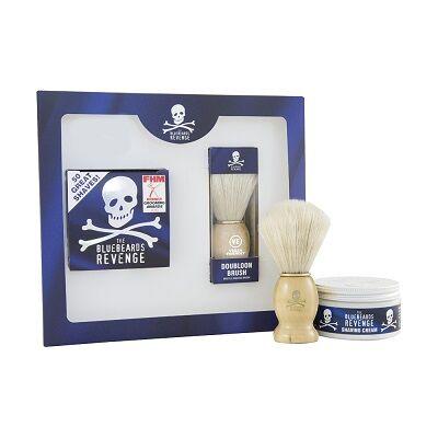 The Bluebeards Revenge Shaving Cream & Doubloon Brush Kit (kifutó termék)
