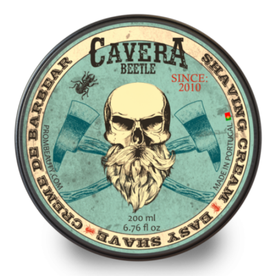 Cavera Beetle Shaving Cream 200ml