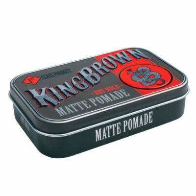King Brown Matte Pomade Dry Hold 71g