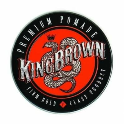 King Brown Premium Pomade Firm Hold 75g