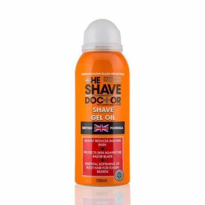 The Shave Doctor Shave Gel Oil 100ml