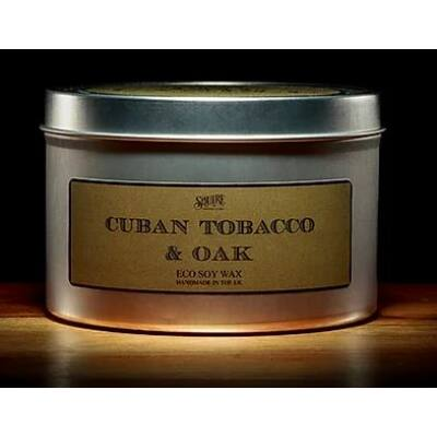 Squire The Candle - Cuban Tobacco & Oak illatos gyertya