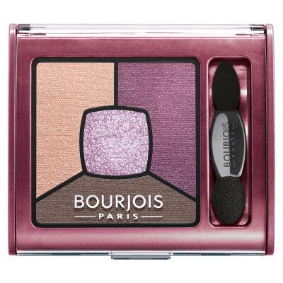 Bourjois Smoky Stories Szemhéjfesték Quad - 15 Brilliant Prunette