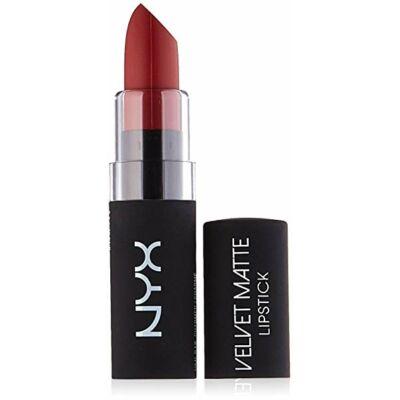 NYX Velvet Matte Lipstick - 12 Charmed ajakrúzs 3,9g