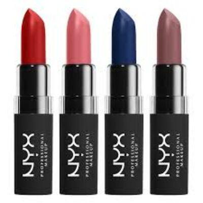NYX Professional Velvet Matte ajakrúzs (15db/csomag)