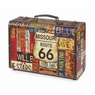 Sibel Barber Vintage Case szerszám táska (Route 66)