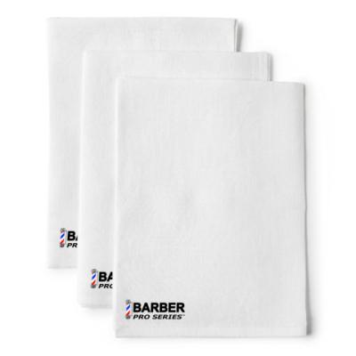 Barber - Pro Series Salon Towel White törölköző szalon használatra fehér (30x50)