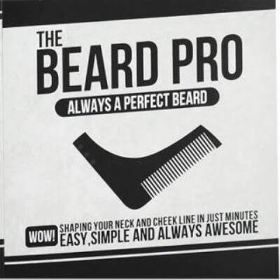 Beard Pro szakállfésű és forma sablon