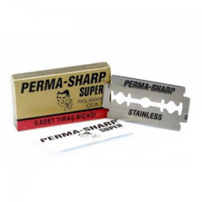 Perma-Sharp Razor Blades (DE)  5db/csom.