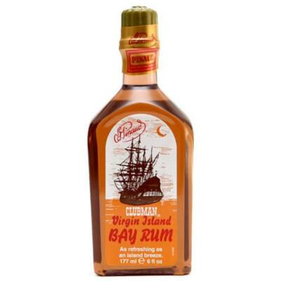 Clubman Pinaud After Shave Lotion Virgin Island Bay Rum 177ml