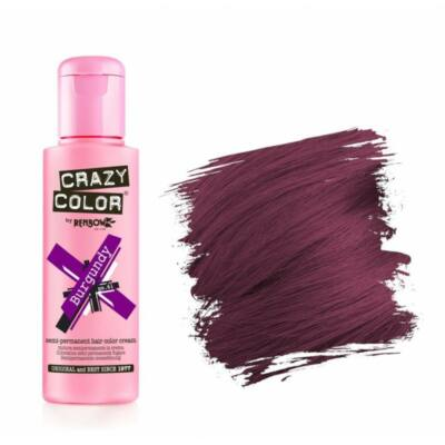 Crazy Color hajszínező krém - 61 Burgundy 100ml