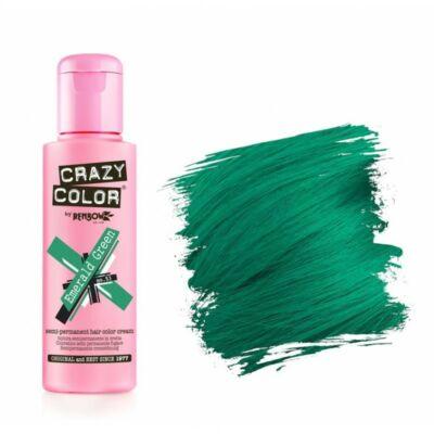 Crazy Color hajszínező krém - 53 Emerald Green 100ml