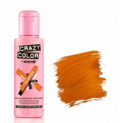 Crazy Color hajszínező krém - 60 Orange 100ml