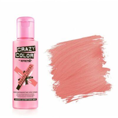 Crazy Color hajszínező krém - 70 Peachy Coral 100ml