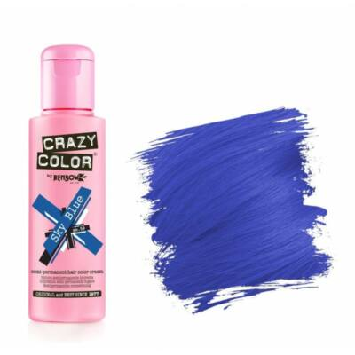 Crazy Color hajszínező krém - 59 Sky Blue 100ml