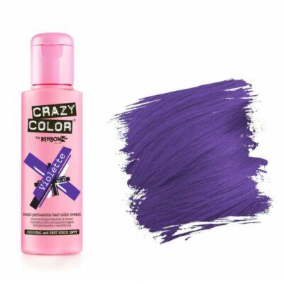Crazy Color hajszínező krém - 43 Violette 100ml
