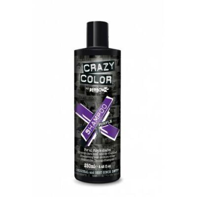 Crazy Color színvédő sampon 250ml (lila)