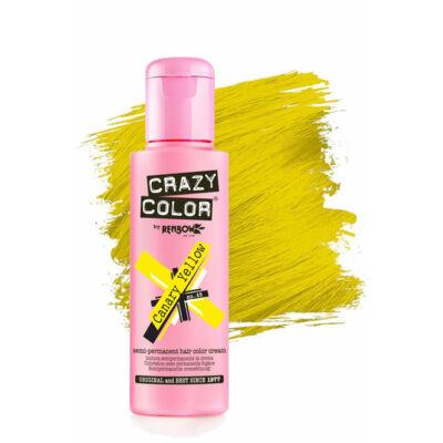 Crazy Color hajszínező krém - 49 Canary Yellow 100ml