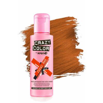 Crazy Color hajszínező krém - 57 Coral Red 100ml