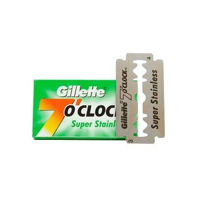 Gillette 7 O'Clock Green DE blades borotvapenge (5db/csom.)