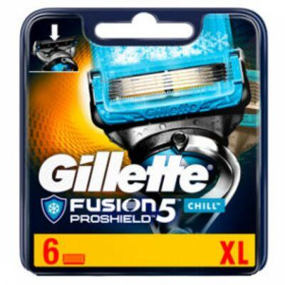 Gillette Fusion5 ProShield Chill borotvabetétek XL (6db)