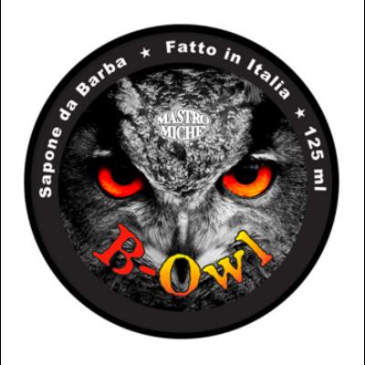 Mastro Miche' B-Owl Shaving Soap 125ml