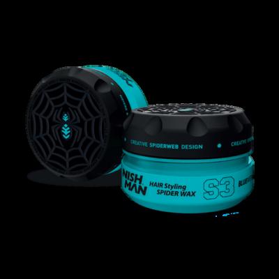 Nish Man Hair Styling Spider Wax S3 Blue Web 100ml