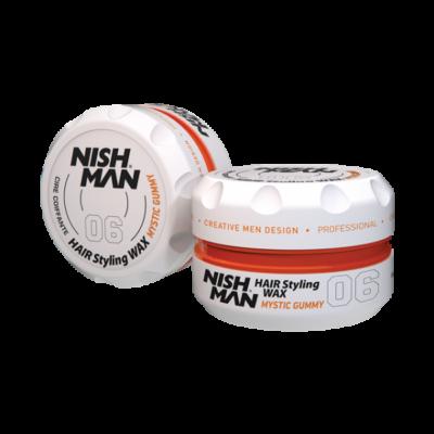 Nish Man Hair Styling Wax (06) Mystic Gummy 100ml