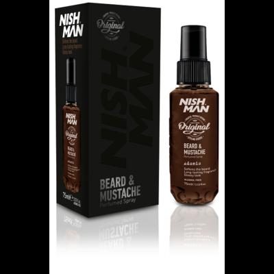 Nish Man Beard & Mustache Perfumed Spray Adonis 75ml