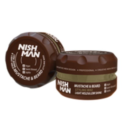 Nish Man Beard & Mustache Styling Balm 100ml