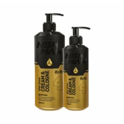 Nish Man After Shave Cream&Cologne 2in1 (4) Gold One 200ml
