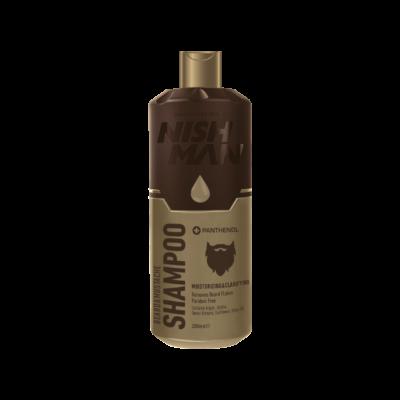 Nish Man Beard & Mustache Care Shampoo 200ml (új)
