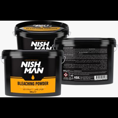 Nish Man Bleaching Powder (blue) 2000g (Pro Size) (új)